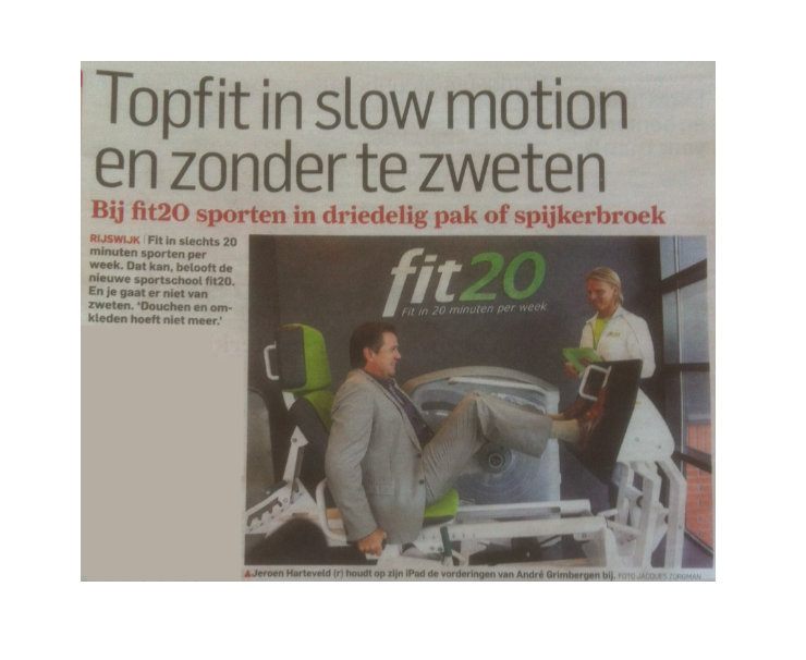 fit20 nationale franchise krant